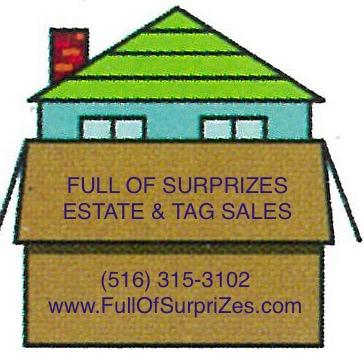 Full of Surprizes Estate and Tag Sales - Oceanside, NY - Real Estate Agents