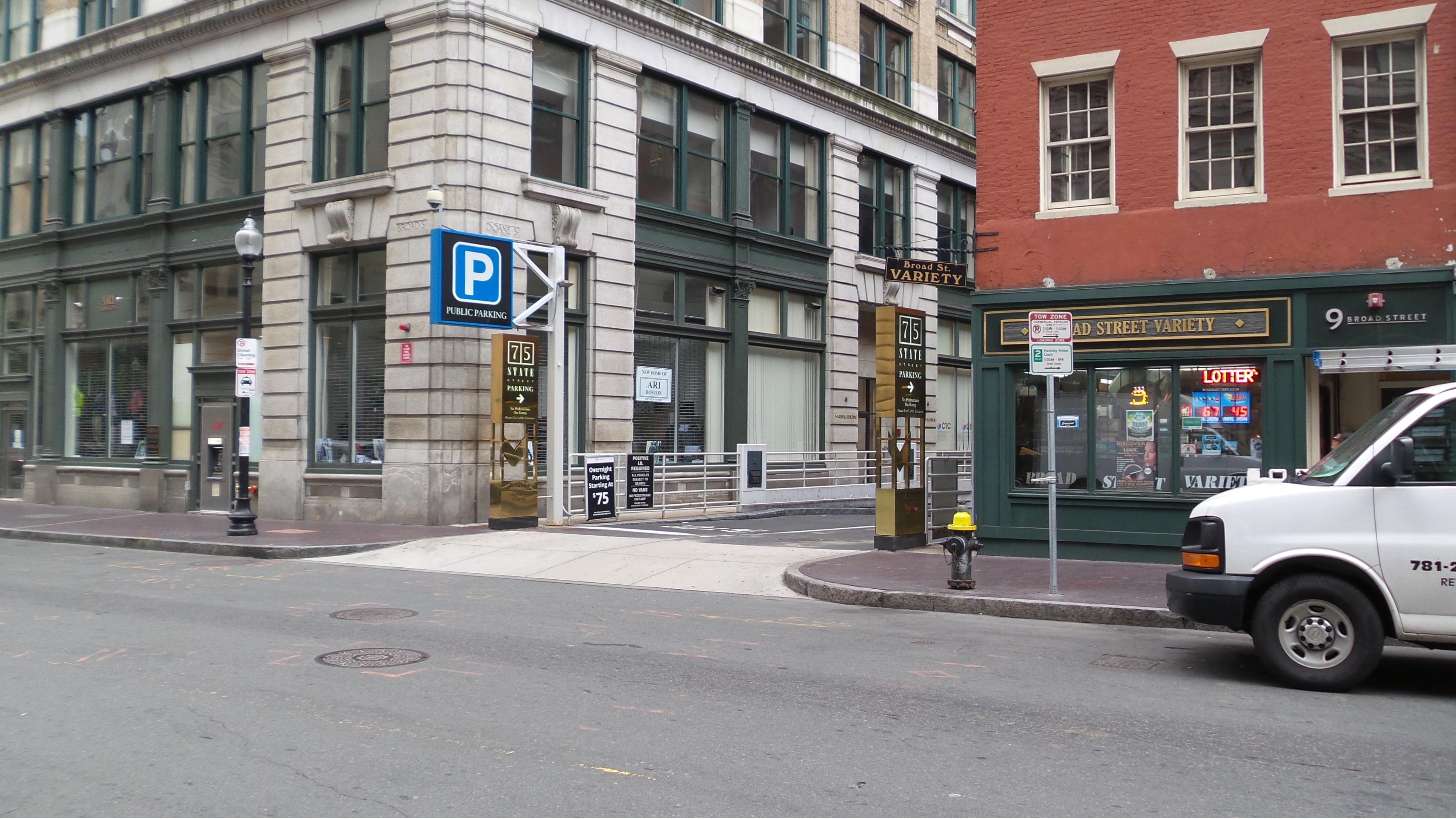 75 State Street Garage Boston Massachusetts Ma