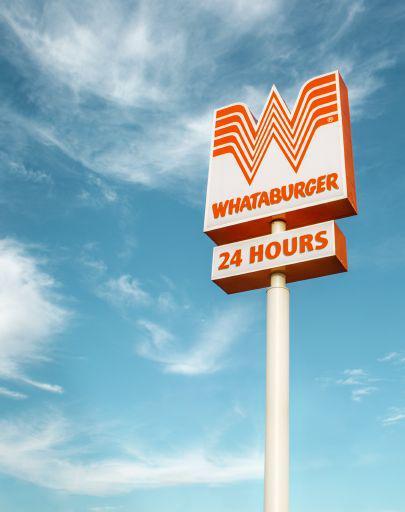 Whataburger Pole Sign