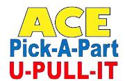 Ace Pick A Part - U Pull It