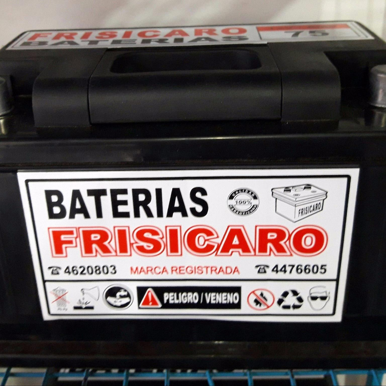 BATERIAS FRISICARO