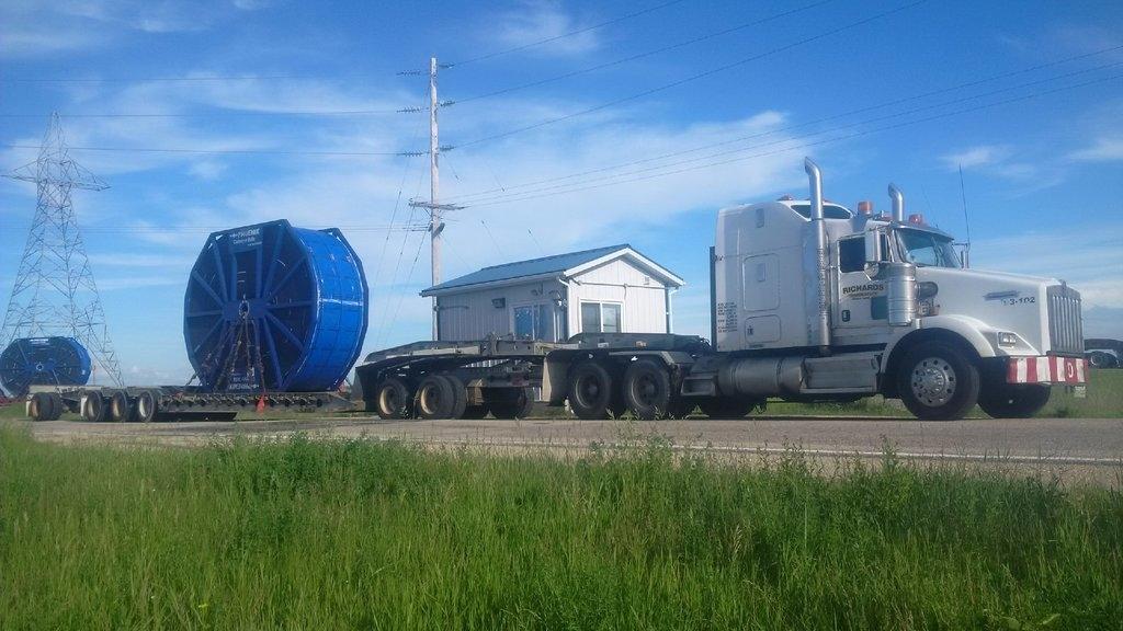 Richards Transport Ltd in Regina