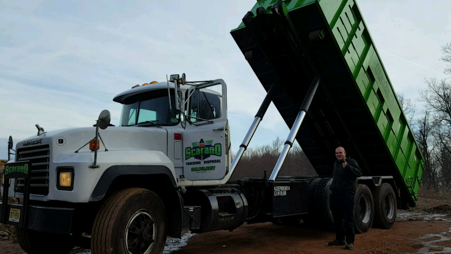 8 Yard Dumpster Waste Management