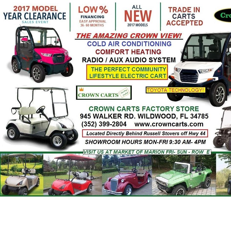 Crown Carts - Wildwood, FL 34785 - (352)399-2804 | ShowMeLocal.com