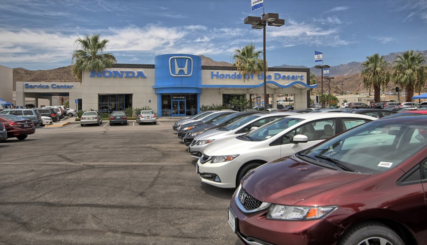 honda of the desert in cathedral city ca 92234