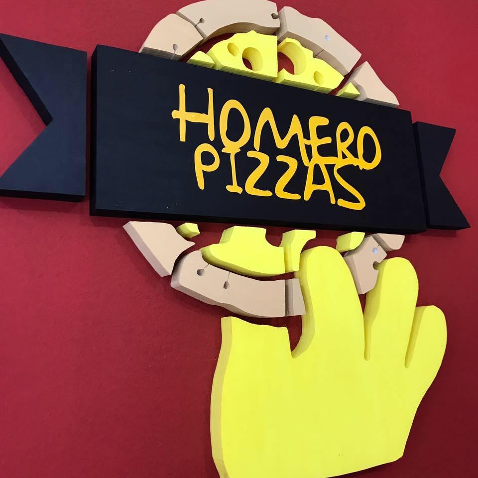 PIZZAS HOMERO Logo