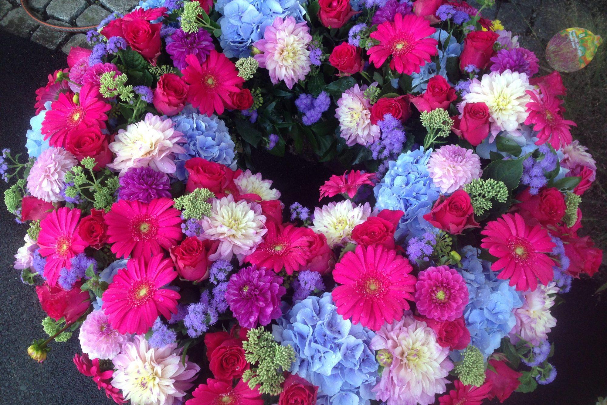 Blumen Tau Tauber