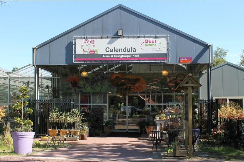 Calendula, Tuin en Kringloopwinkel