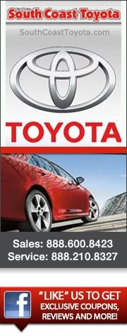Get The Car Shopping Experience That You Deserve At South Coast Toyota  Today!