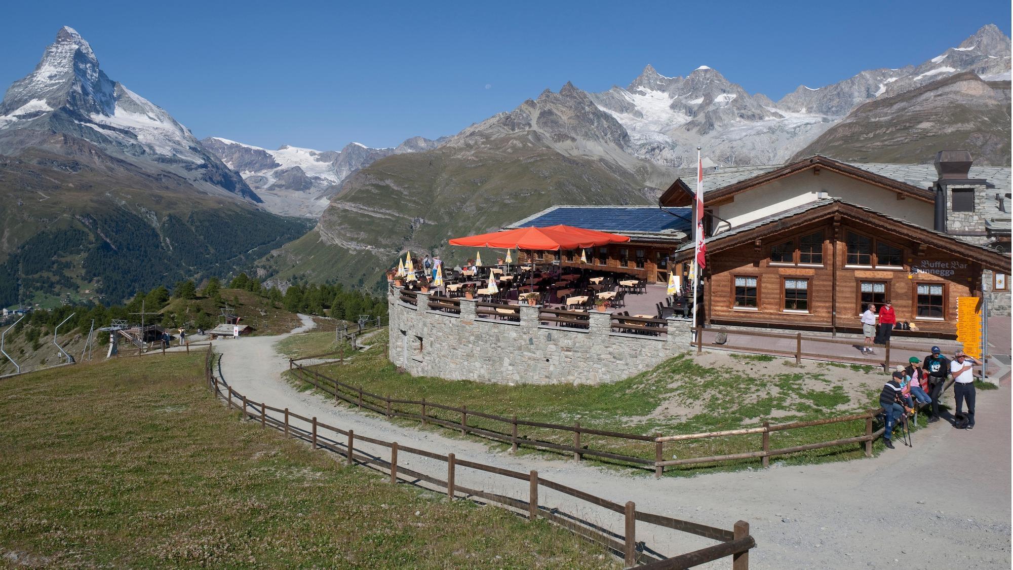 Buffet Bar Sunnegga
