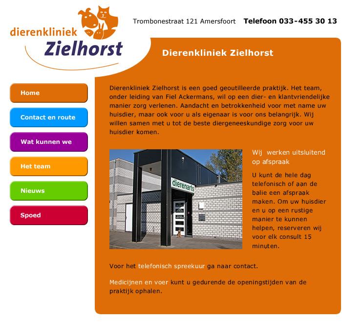 Dierenkliniek Zielhorst Ackermans