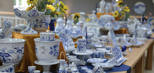 Dům porcelánu s modrou krví