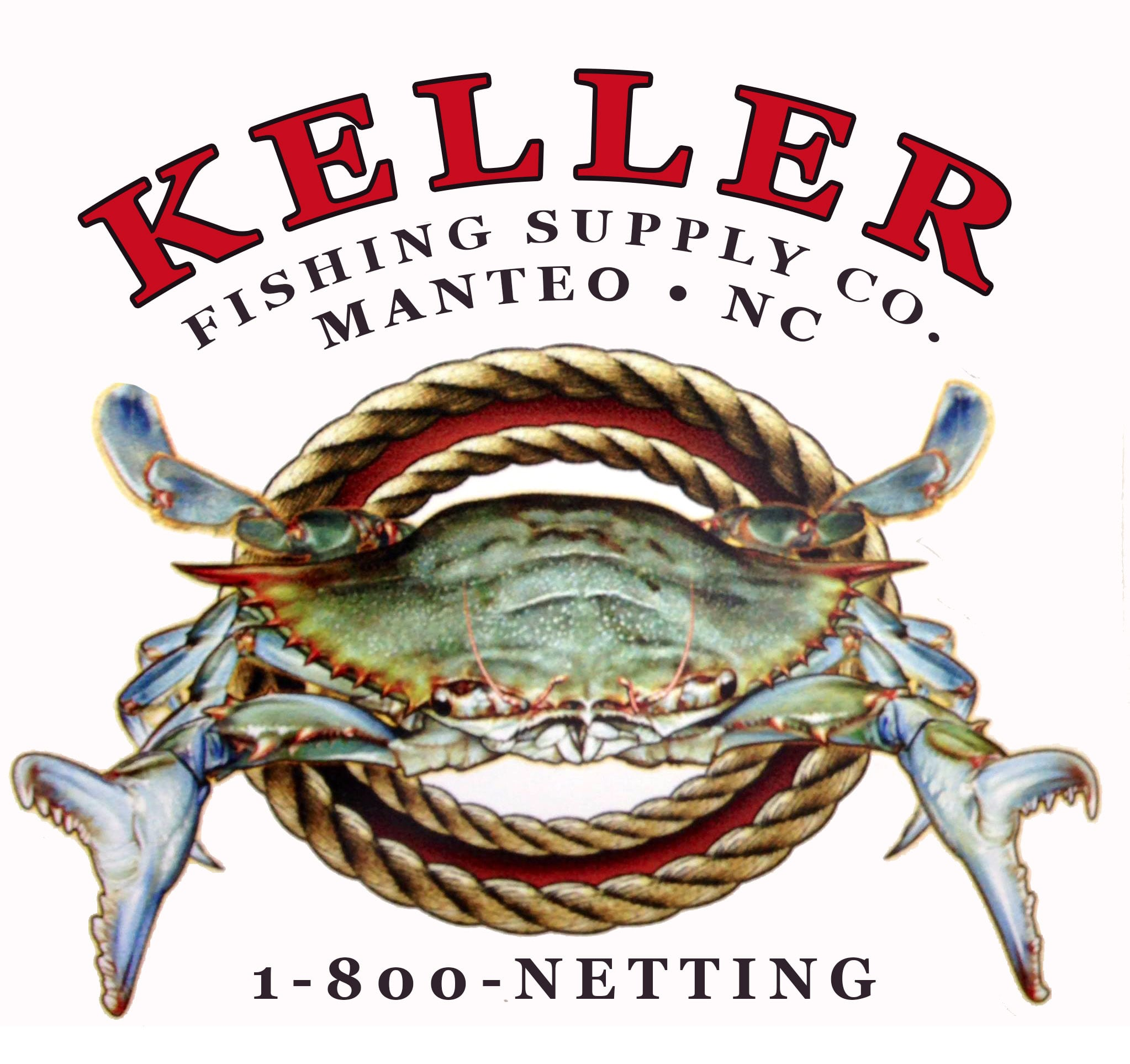 Keller Fishing Supply Company, Manteo, NC, logo