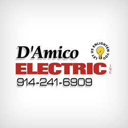Electrician in NY Bedford Hills 10507 D'Amico Electric 213 Railroad Ave  (914)241-6909