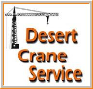 Desert Crane Service - ad image