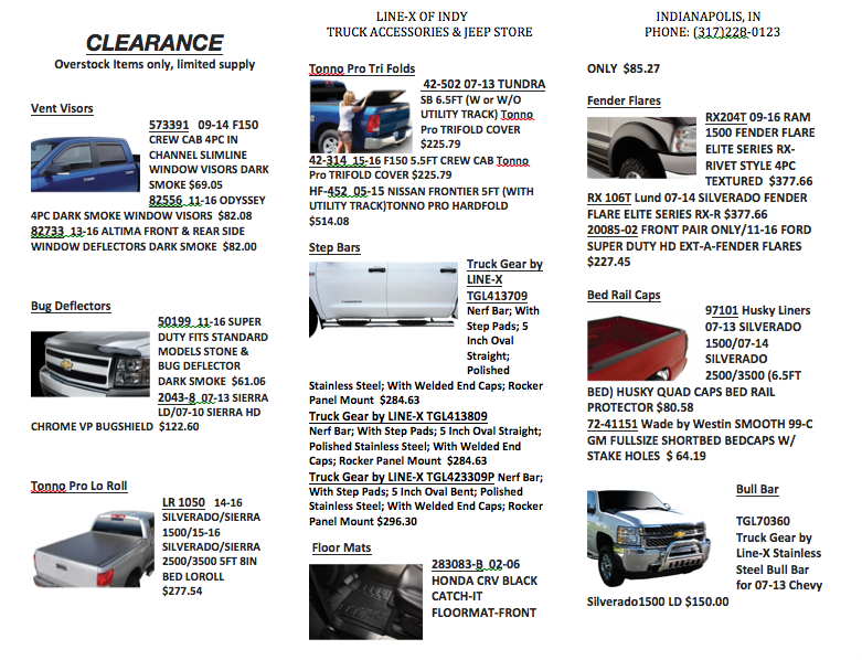 Line-X of Indy Truck Accessories & Jeep Store Coupons near ...
