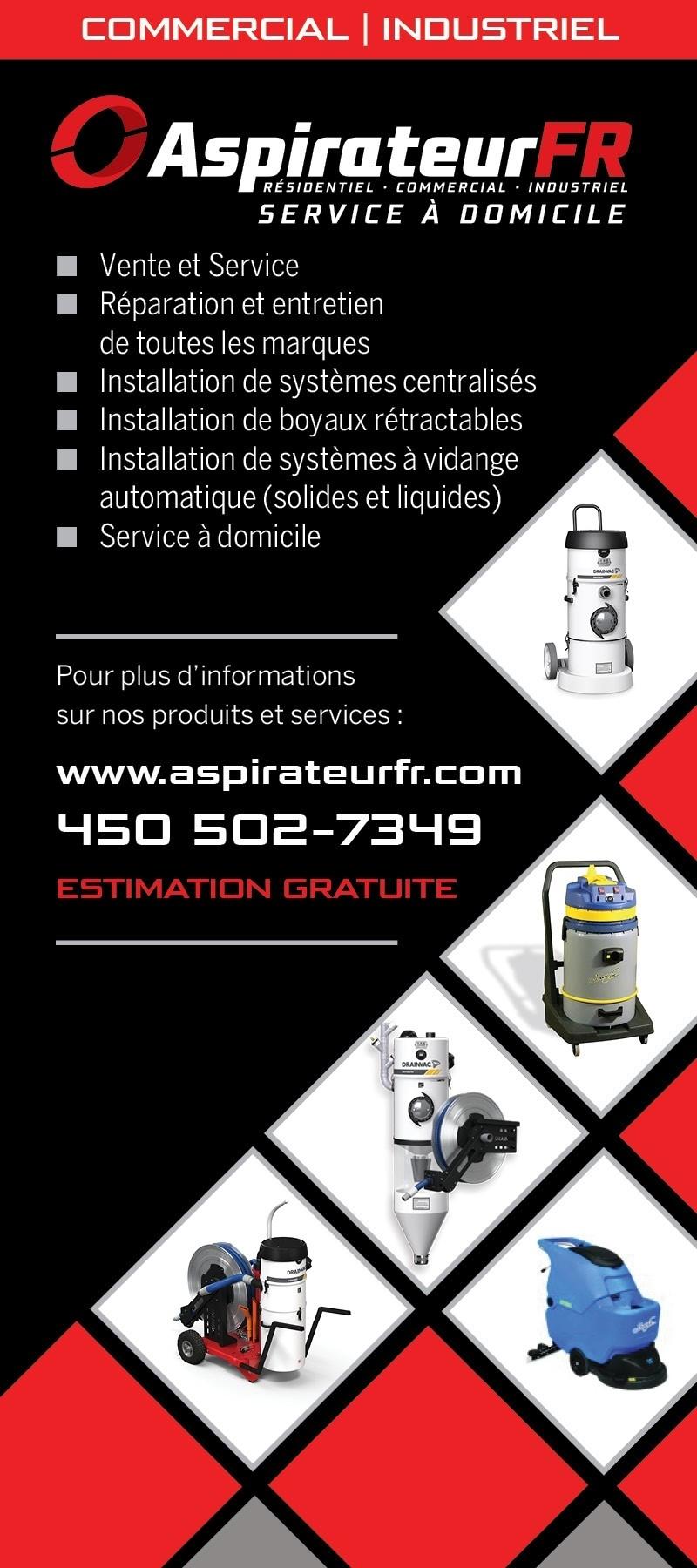 Aspirateur FR - Saint-Hyacinthe, QC J2R 2B7 - (450)502-7349 | ShowMeLocal.com