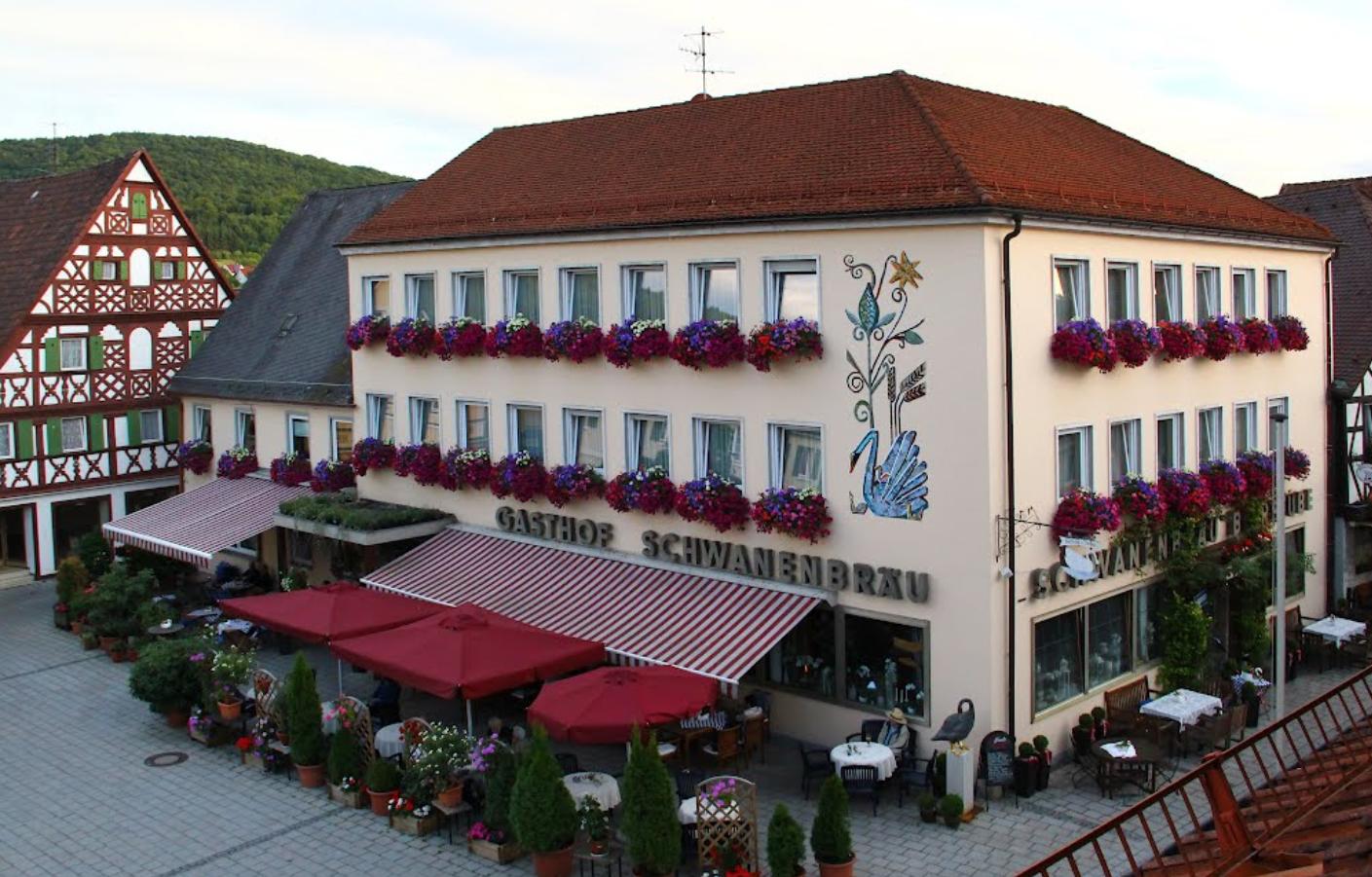 Brauereigasthof Schwanenbräu Ebermannstadt