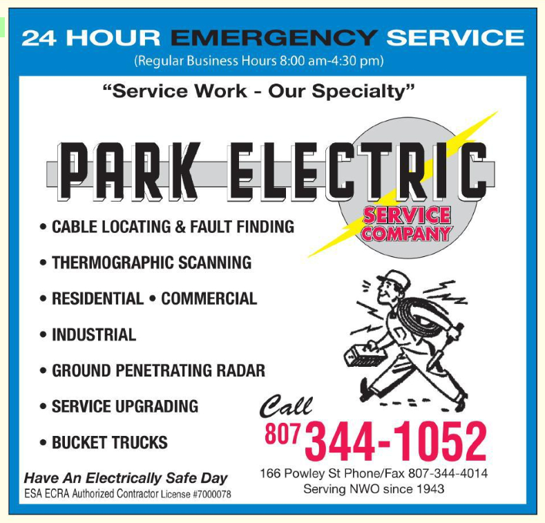 Park Electric Service Co Thunder Bay (807)344-1052