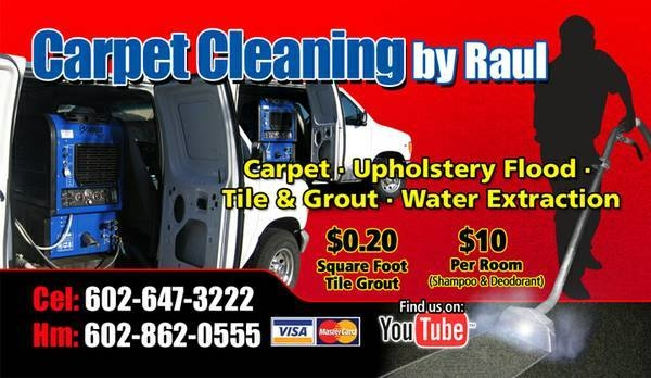 Carpet Cleaning by Raul