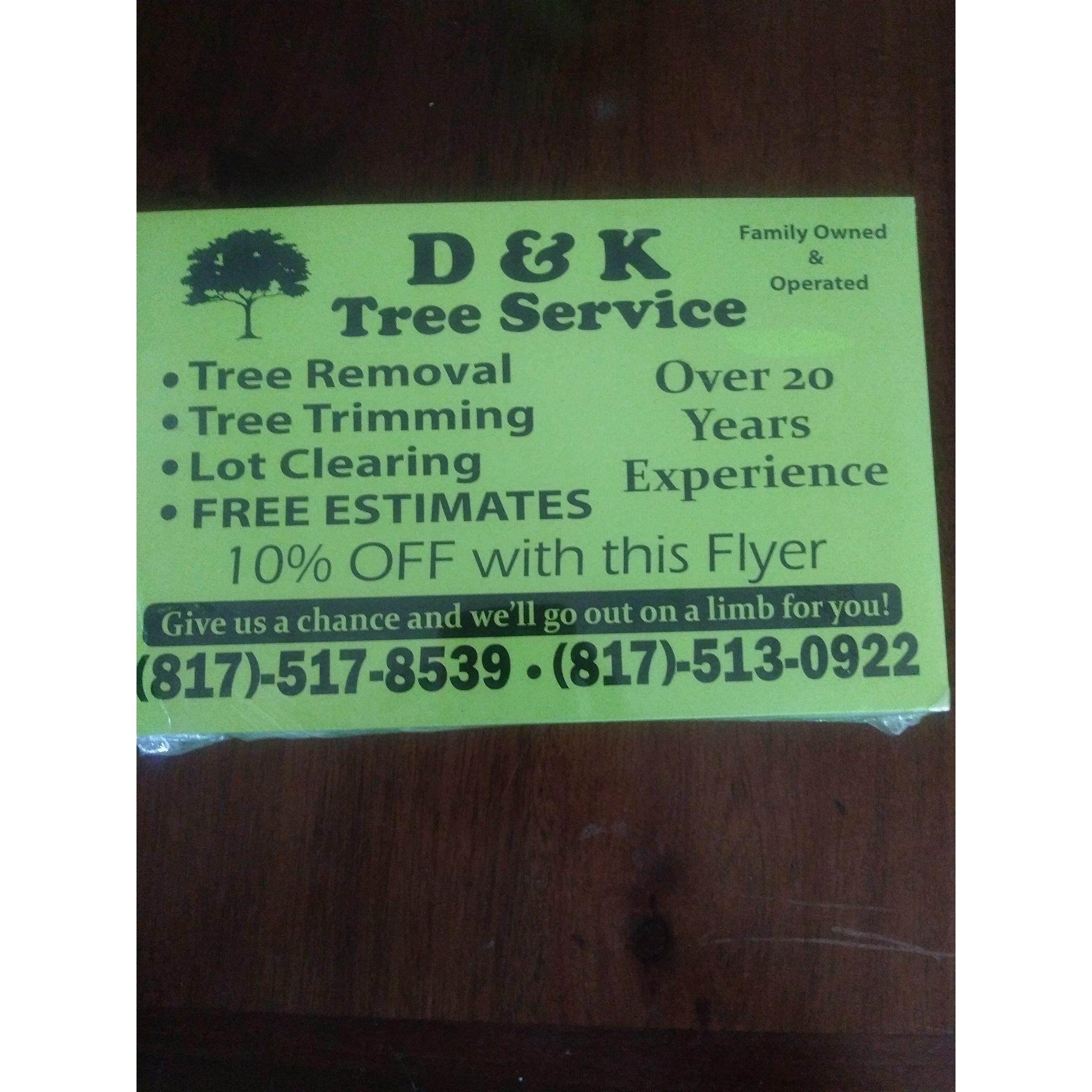 D & K Tree Service - Azle, TX 76020 - (817)517-8539 | ShowMeLocal.com