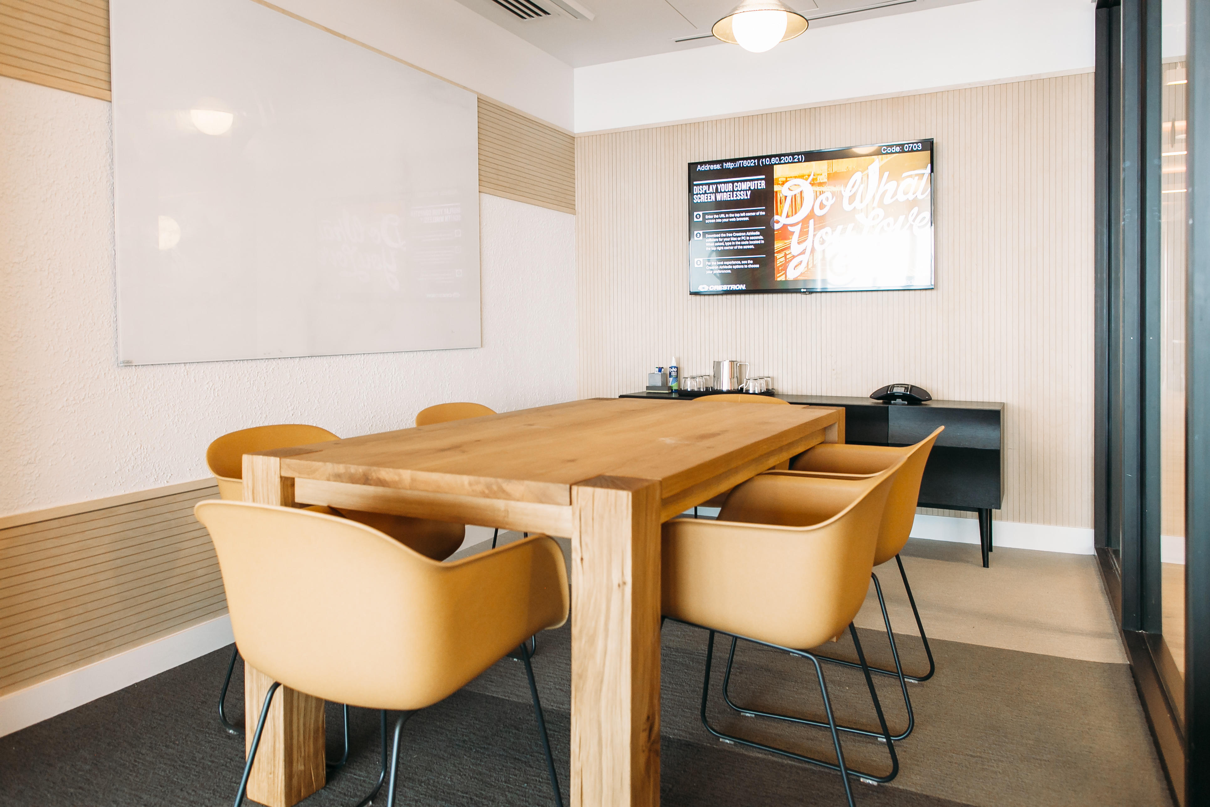 Example shown: Conference Room (Gas Tower, Los Angeles) WeWork 33 Queen St London 020 3695 7895