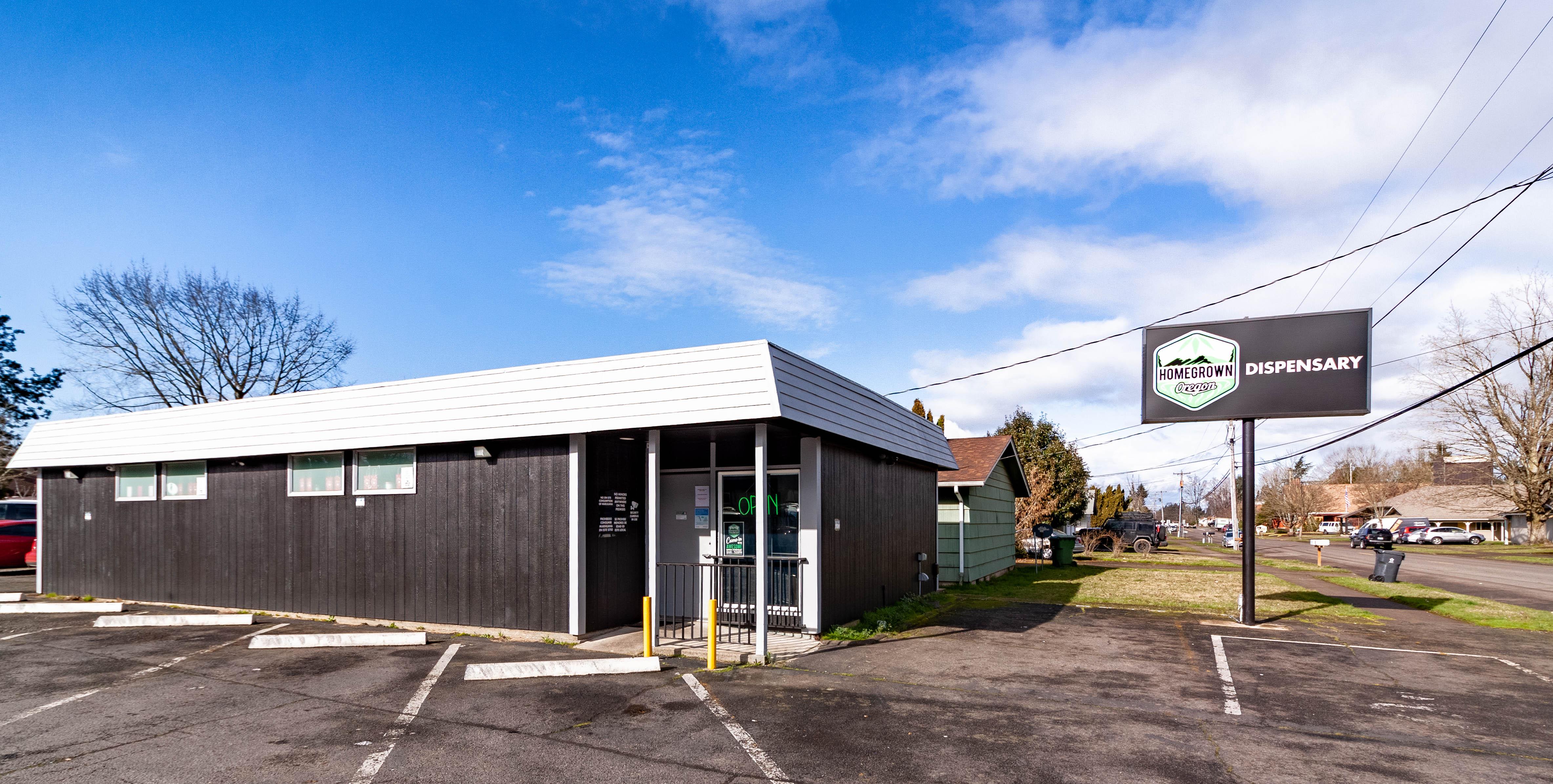 Homegrown Oregon Recreational & Medical Marijuana Dispensary Northeast Salem