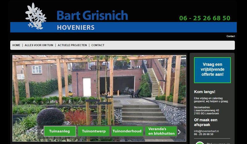Bart Grisnich Hoveniers