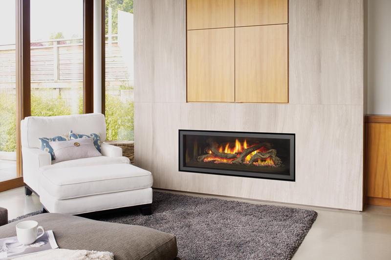 Fireplace Gallery in Edmonton: Regency Ultimate U1500 Large Contemporary Gas Fireplace
