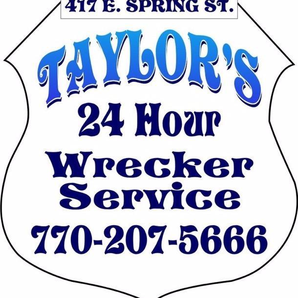 Taylor's 24hr Wrecker service - Monroe, GA - Auto Towing & Wrecking