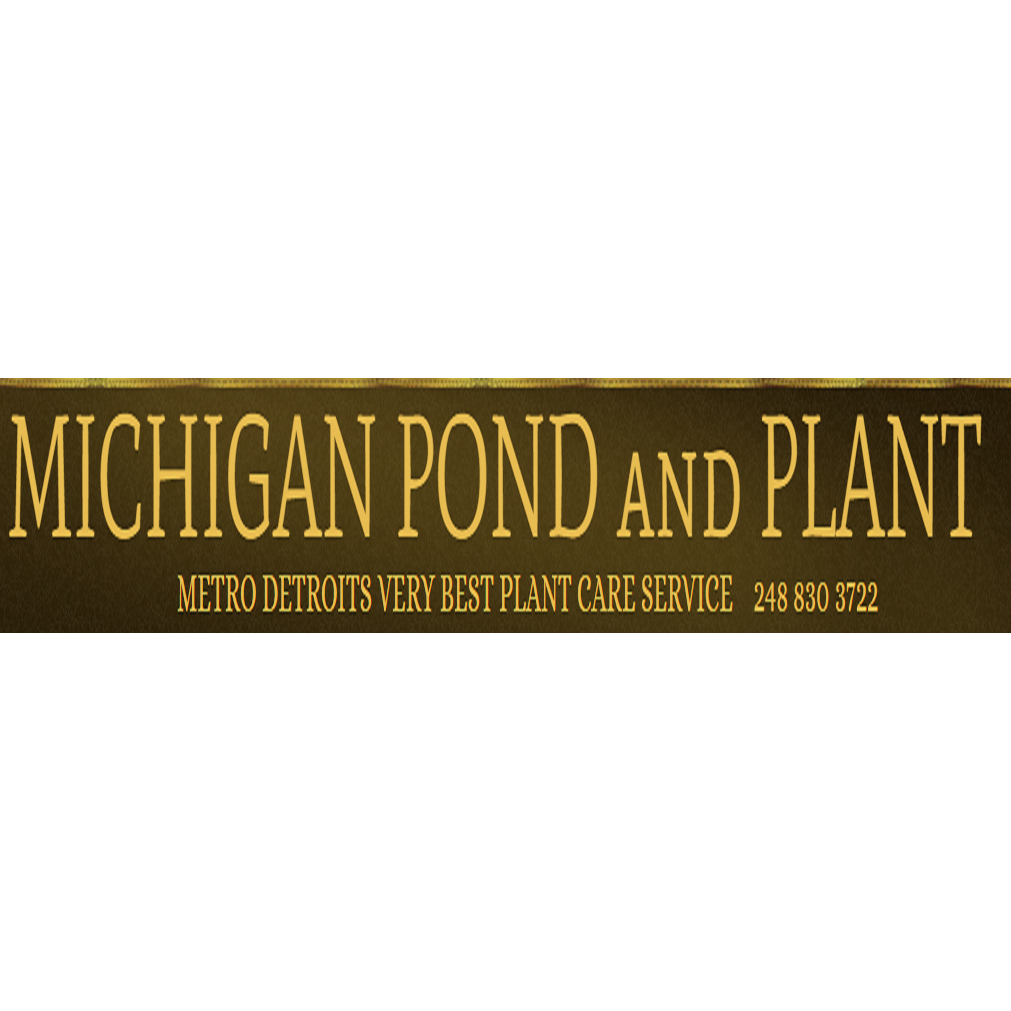 Michigan Pond and Plant