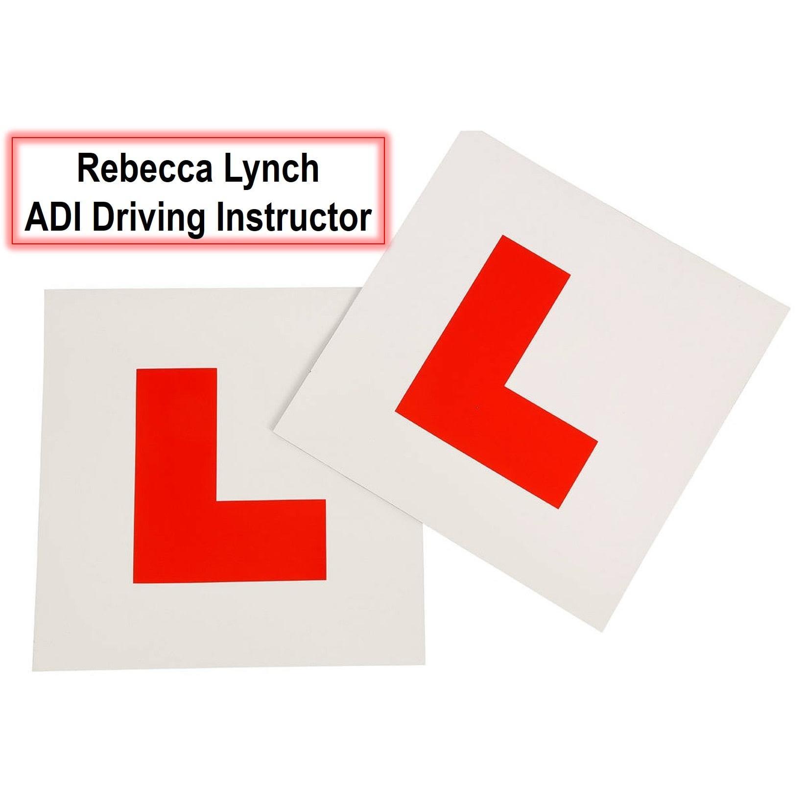Rebecca Lynch Driving Instructor A.D.I - Tadworth, Surrey KT20 7LZ - 01737 844233   ShowMeLocal.com