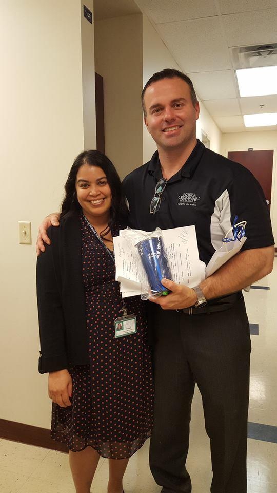 Dr. Palumbo with Florida Orthopaedic Institute Staff