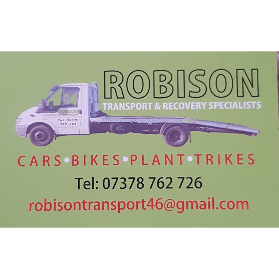 Robison Transport & Recovery - Doncaster, South Yorkshire  - 07378 762726 | ShowMeLocal.com