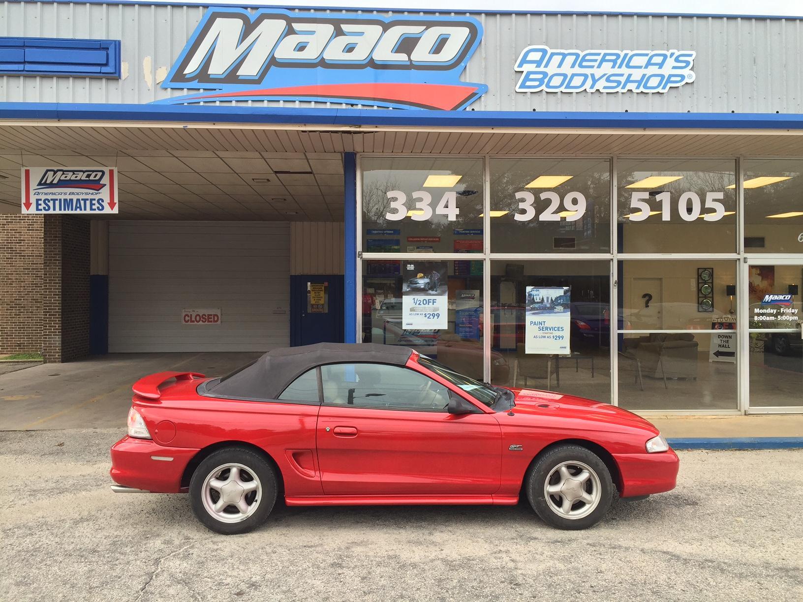 Maaco Collision Repair & Auto Painting, Auburn Alabama (AL ...