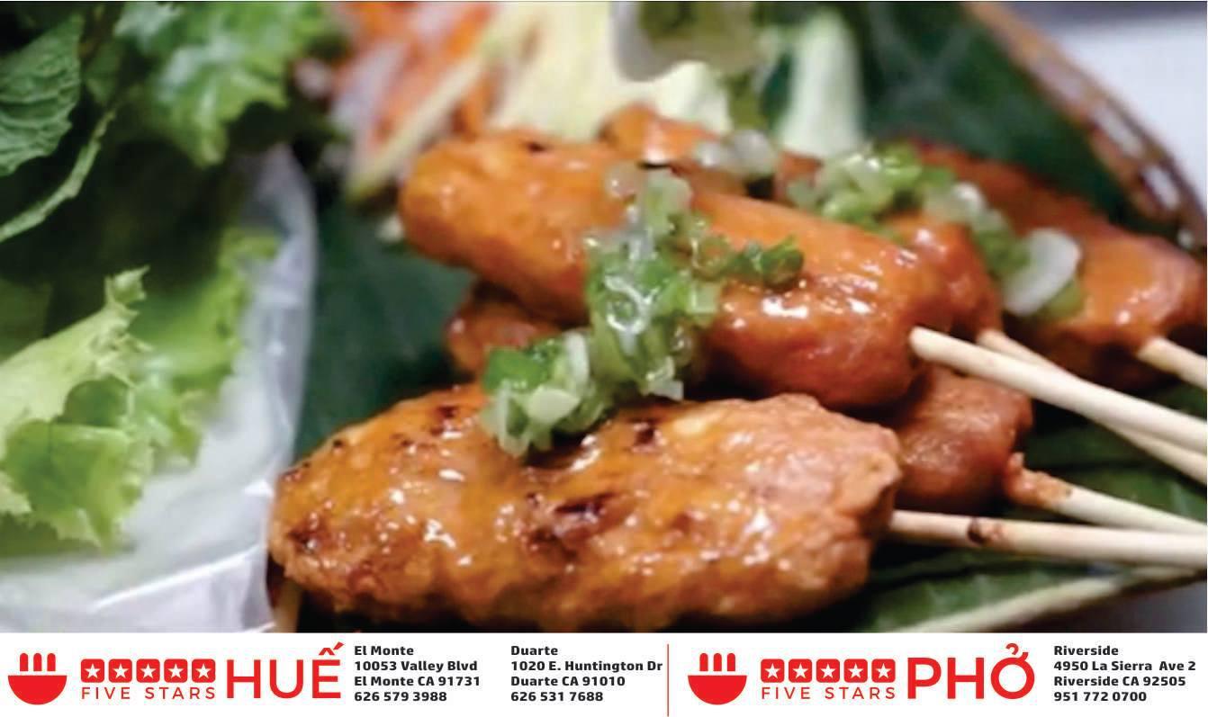 Authentic Vietnamese Hue Style Cuisine 5 Stars Hue @ Duarte opens 11/05! 1020 Hungtington Dr., Duart 5 Stars Hue Duarte (626)531-7688