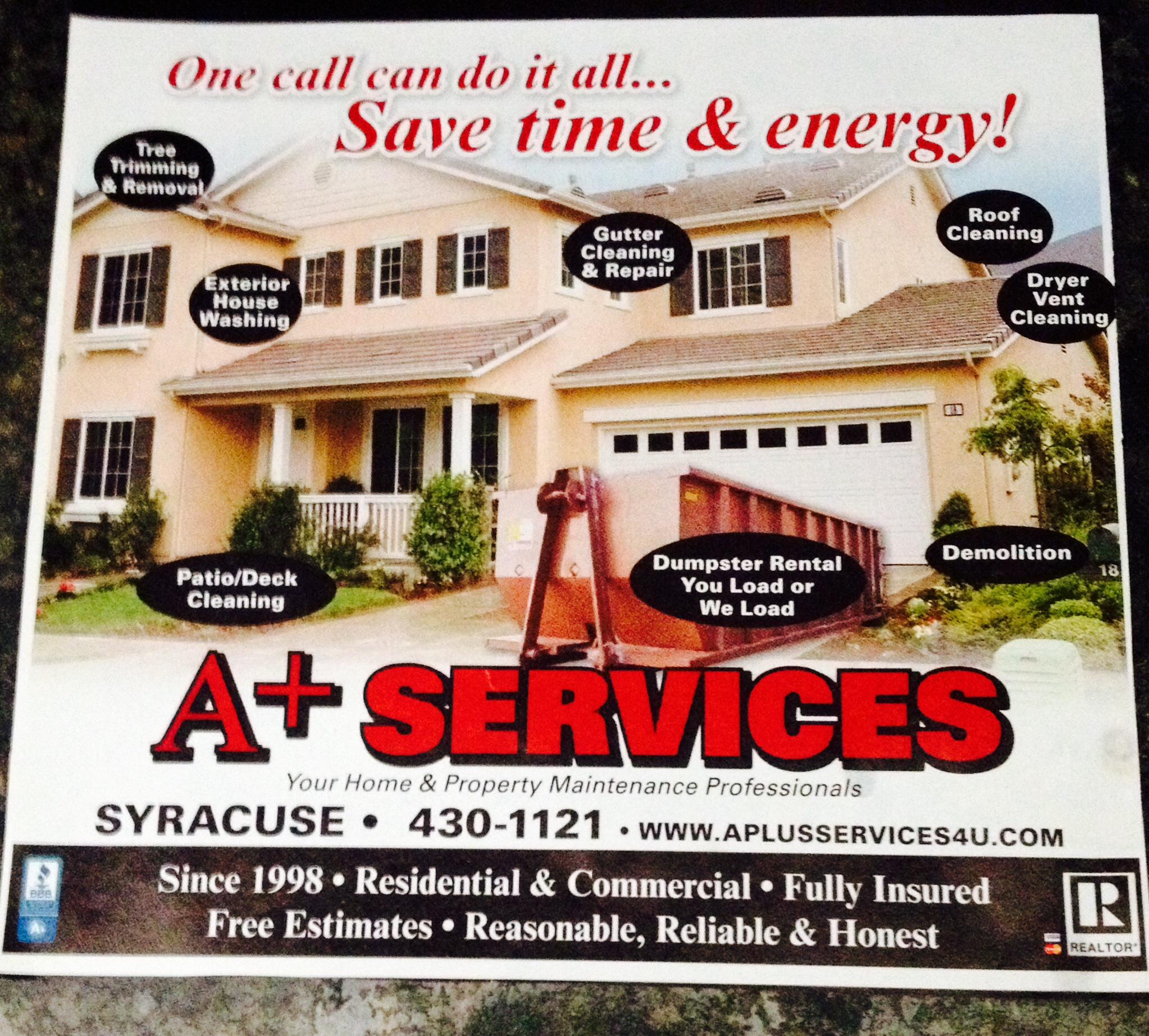 A Plus Services & Discount Dumpster Rental