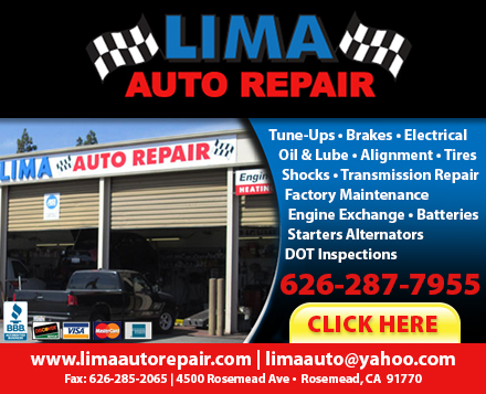Lima auto repair coupons near me in rosemead 8coupons for Motor exchange near me