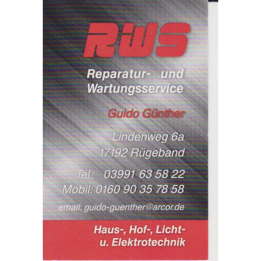 RWS Reparatur - und Wartungsservice Guido Günther - KNX - Smart Home