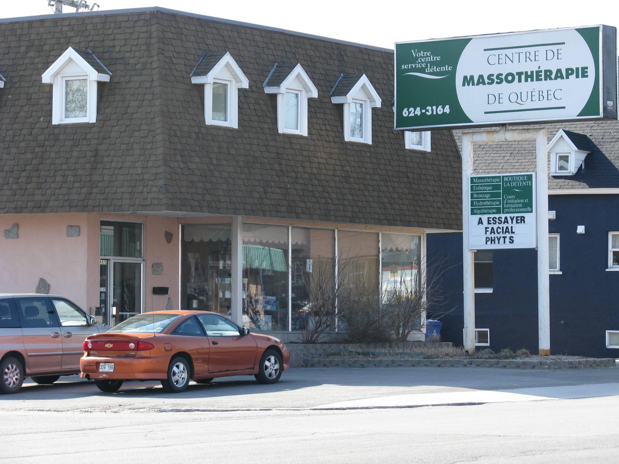 Centre de Massothérapie de Québec Inc