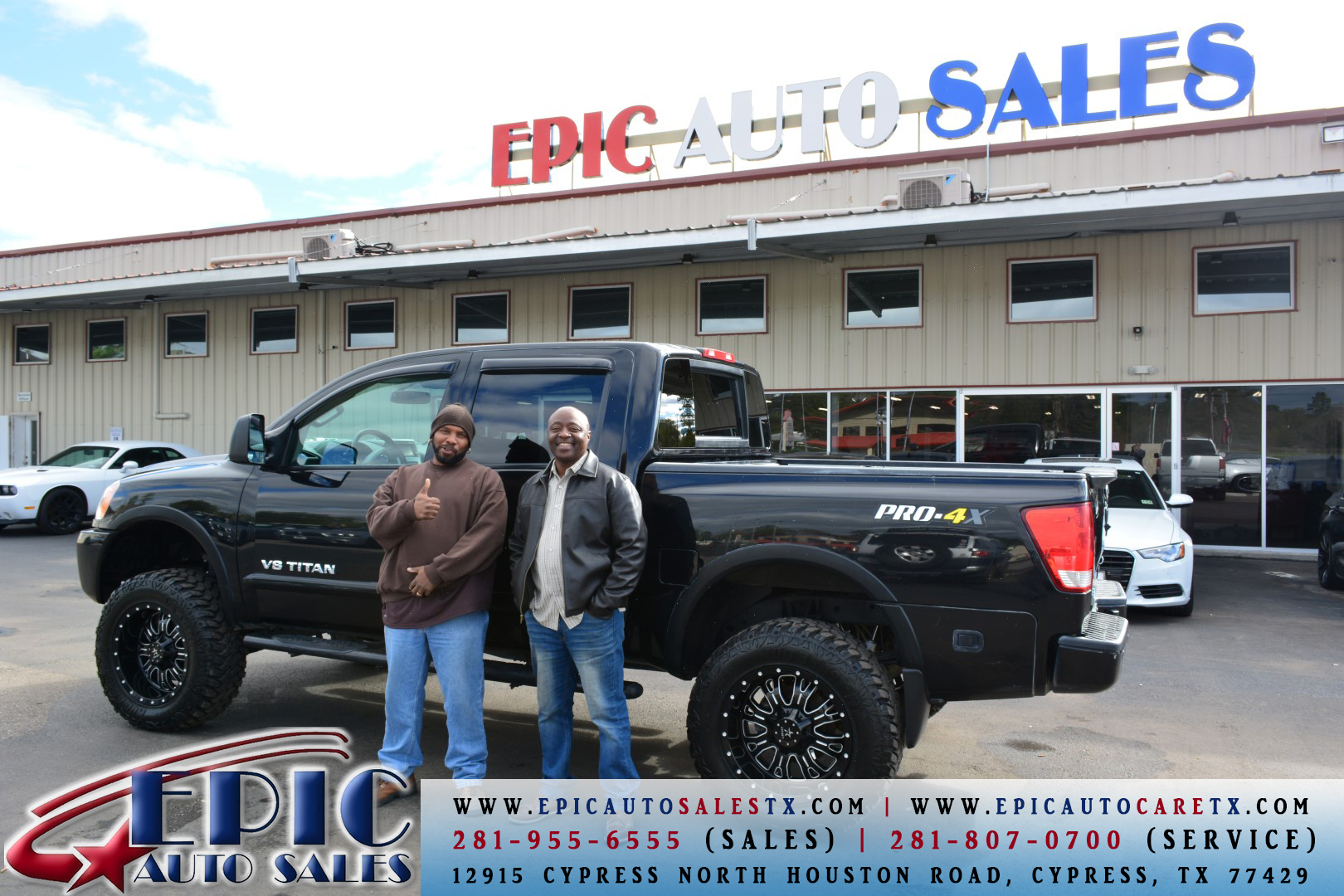 Epic Auto Sales, Cypress Texas (TX) - LocalDatabase.com