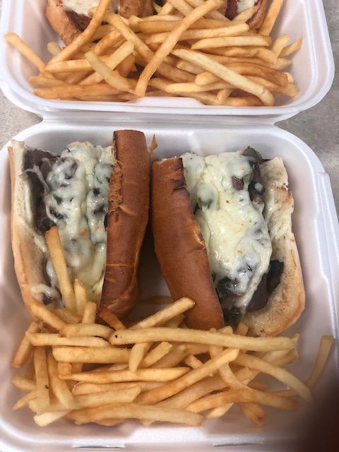 Philly Cheese Steak & Fries