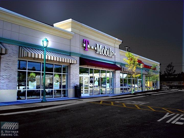 A. Hoffman Awning in Baltimore     410-685-5687     Retail Shopping center awnings in Baltimore