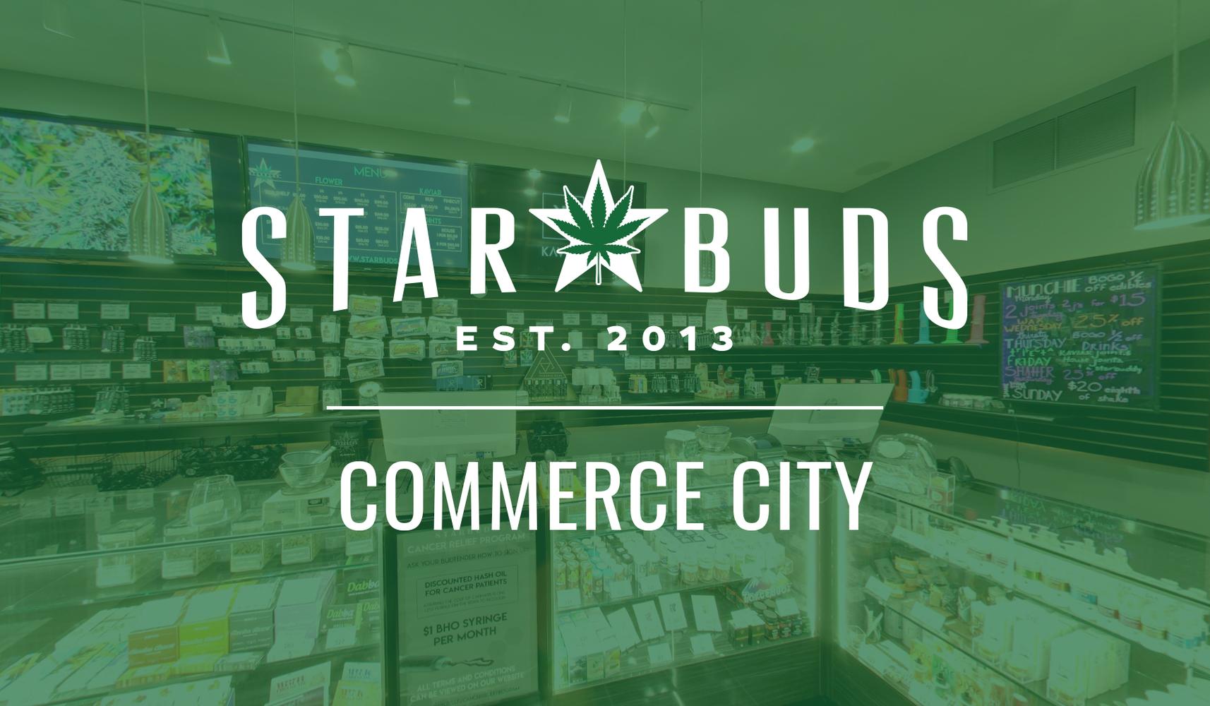 Star Buds Commerce City Recreational Dispensary at Dahlia St