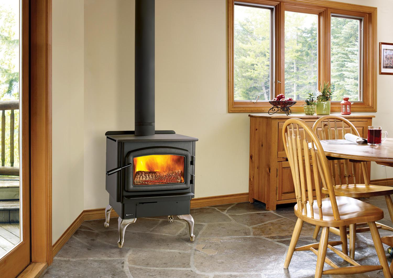 Fireplace Gallery in Edmonton: Regency Classic F2450 EPA Certified Non-Catalytic Wood Stove