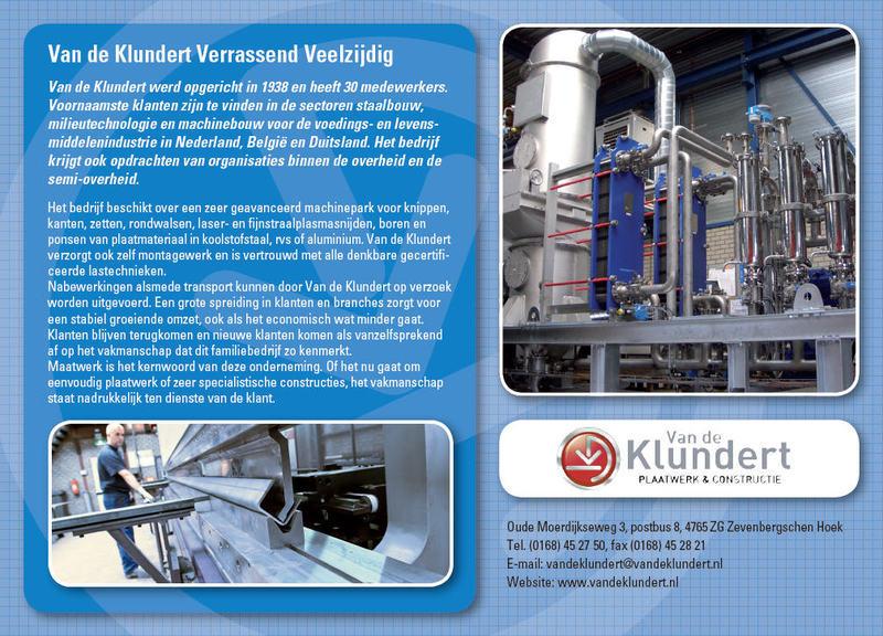Klundert BV Plaatwerk- en Konstruktiebedrijf Van de