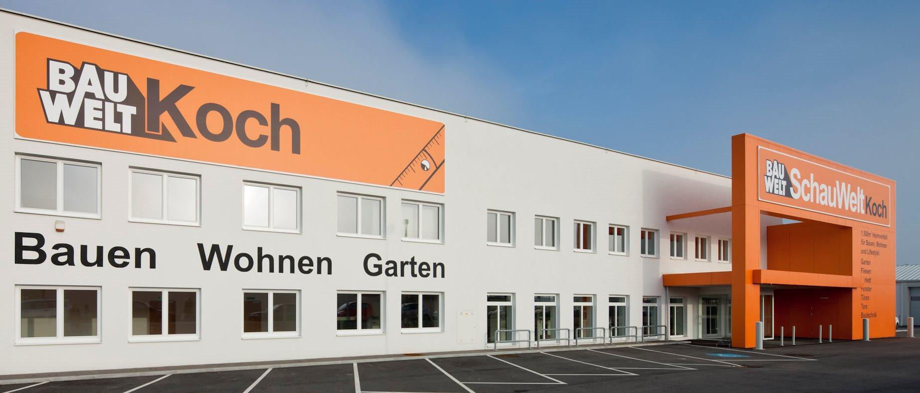 Baustoffgroßhandel Michael Koch Ges.m.b.H. – BauWelt Koch