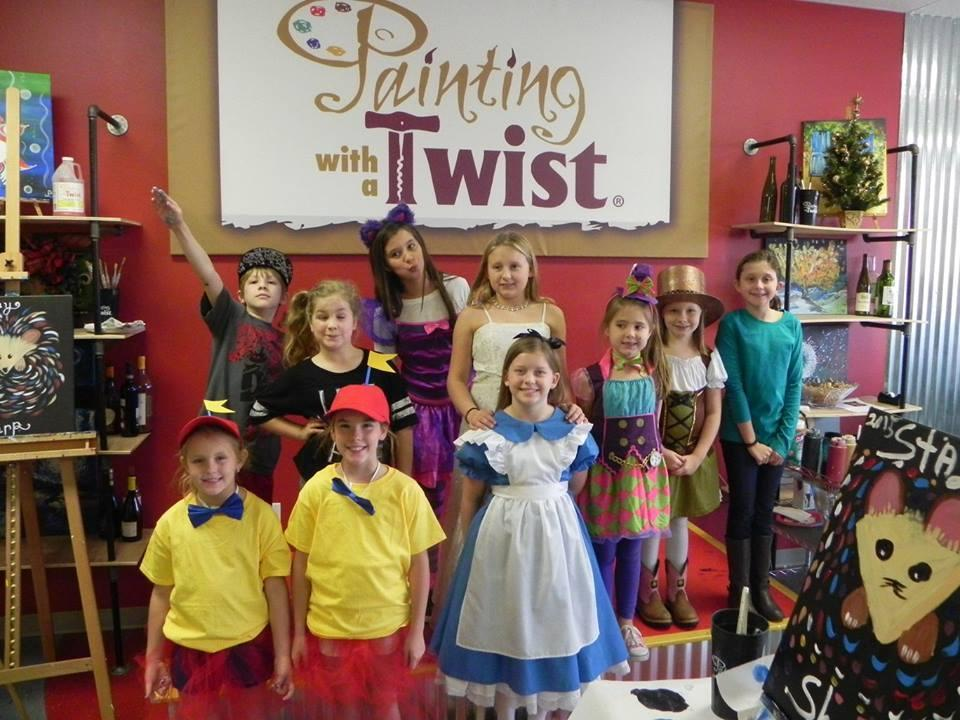 Kid's parties are only $25 per painter, and are so much fun!