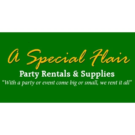 A Special Flair Party Equipment Rentals & Supplies