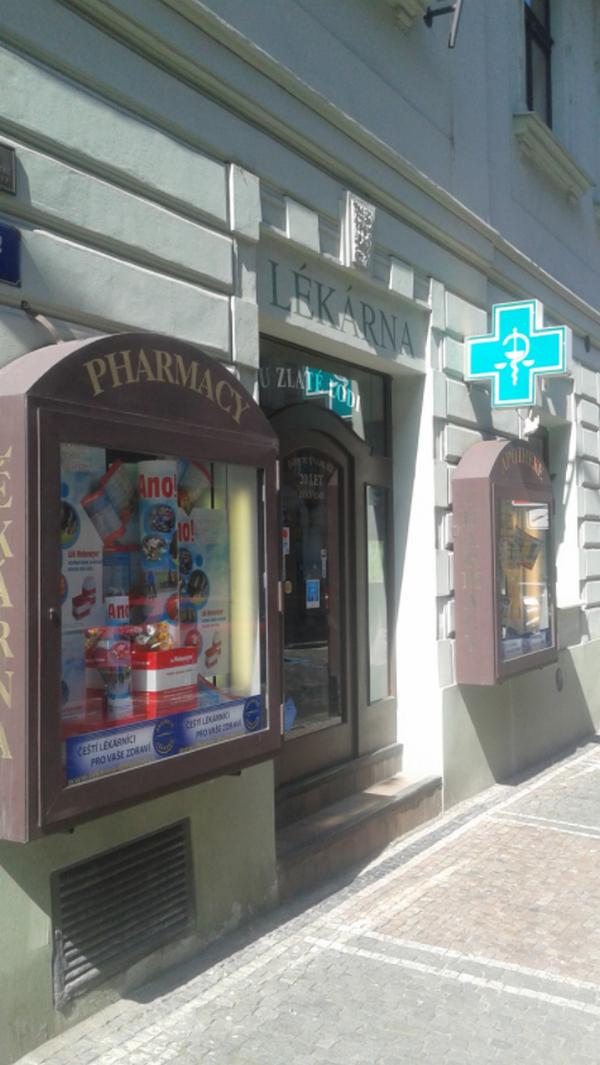 Lékárna U Zlaté lodi Praha 1